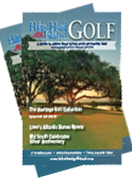 Cover of the Hilton Head Golf Vacation Planner